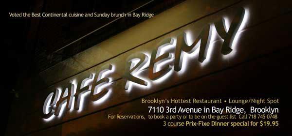 Cafe Remy